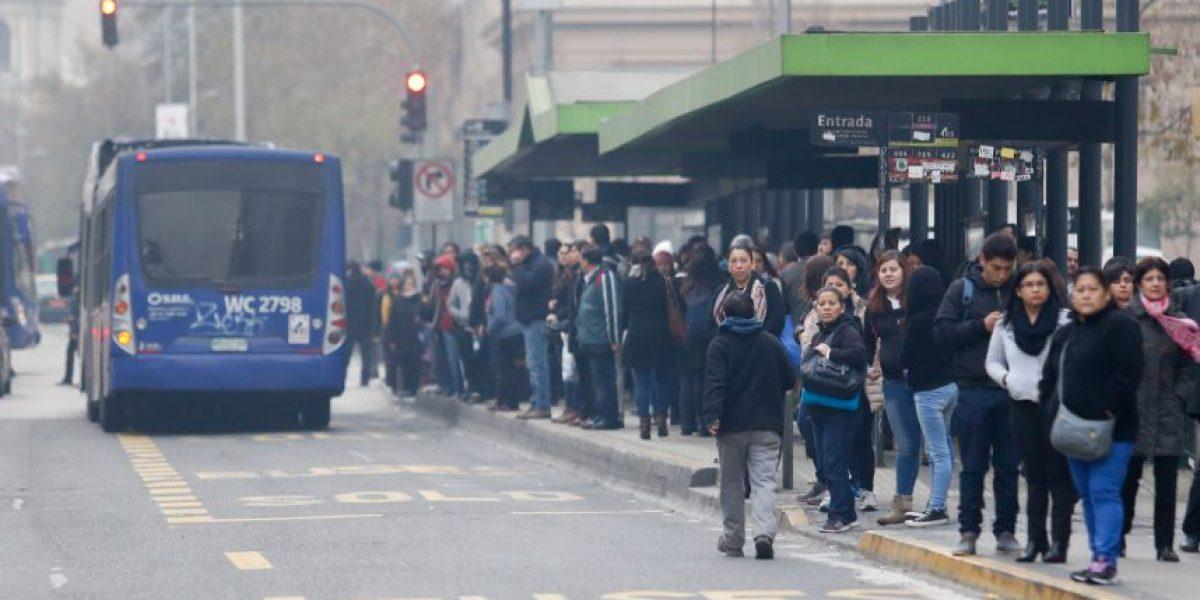 No regirán ejes ambientales durante preemergencia de este jueves en Santiago