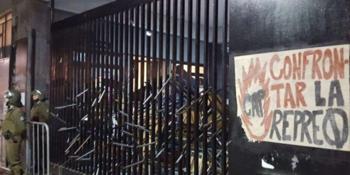 Estudiantes del Instituto Nacional no descartan volver a tomarse el liceo tras desalojo
