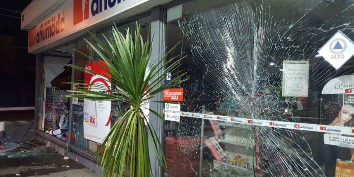 Delincuentes protagonizaron robo frustrado a cajero automático
