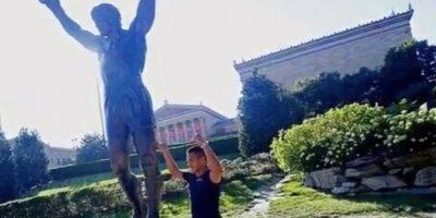Alexis Sánchez se prepara a lo Rocky Balboa para jugar ante México