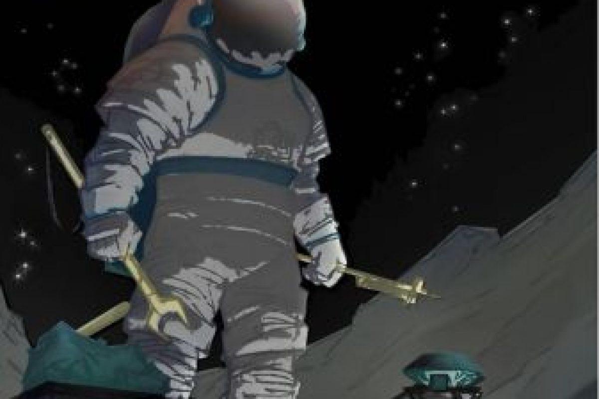 Trabajos nocturnos en la luna Fobos Foto:NASA. Imagen Por: