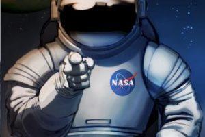 Los afiches futuristas con los que la NASA busca trabajadores Foto:NASA. Imagen Por: