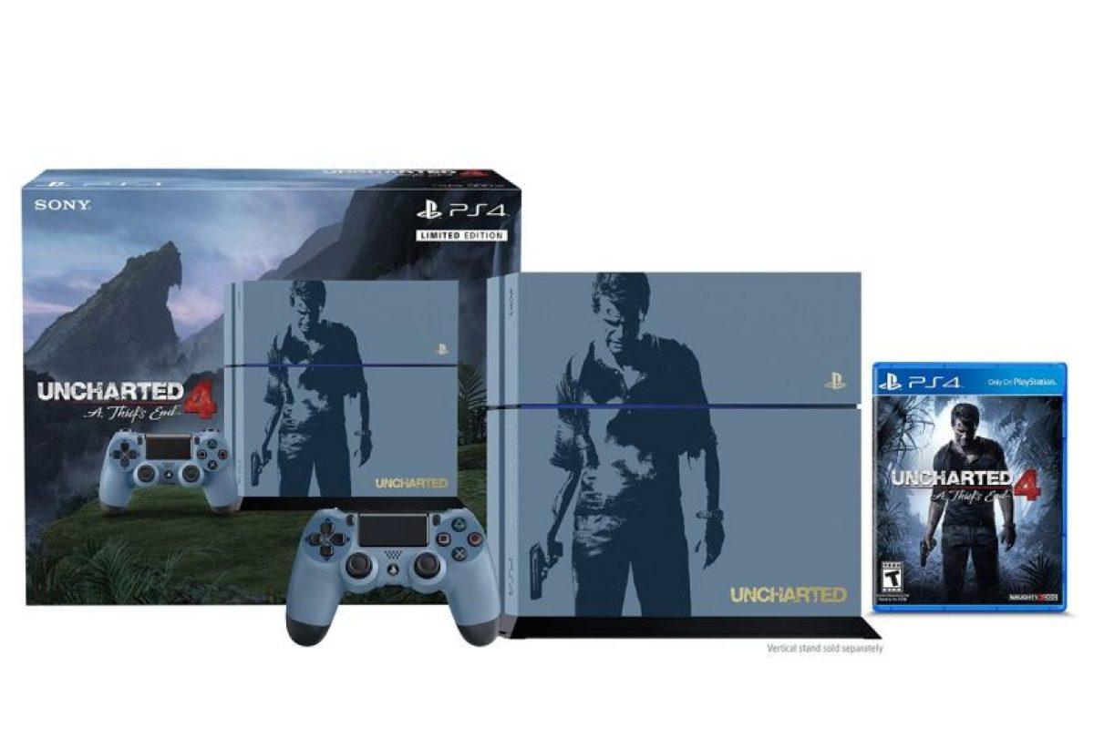 La consola PlayStation 4 especial. Foto:Gentileza. Imagen Por: