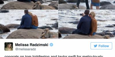 Escritora de ficción predijo relación entre Taylor y Tom Hiddleston