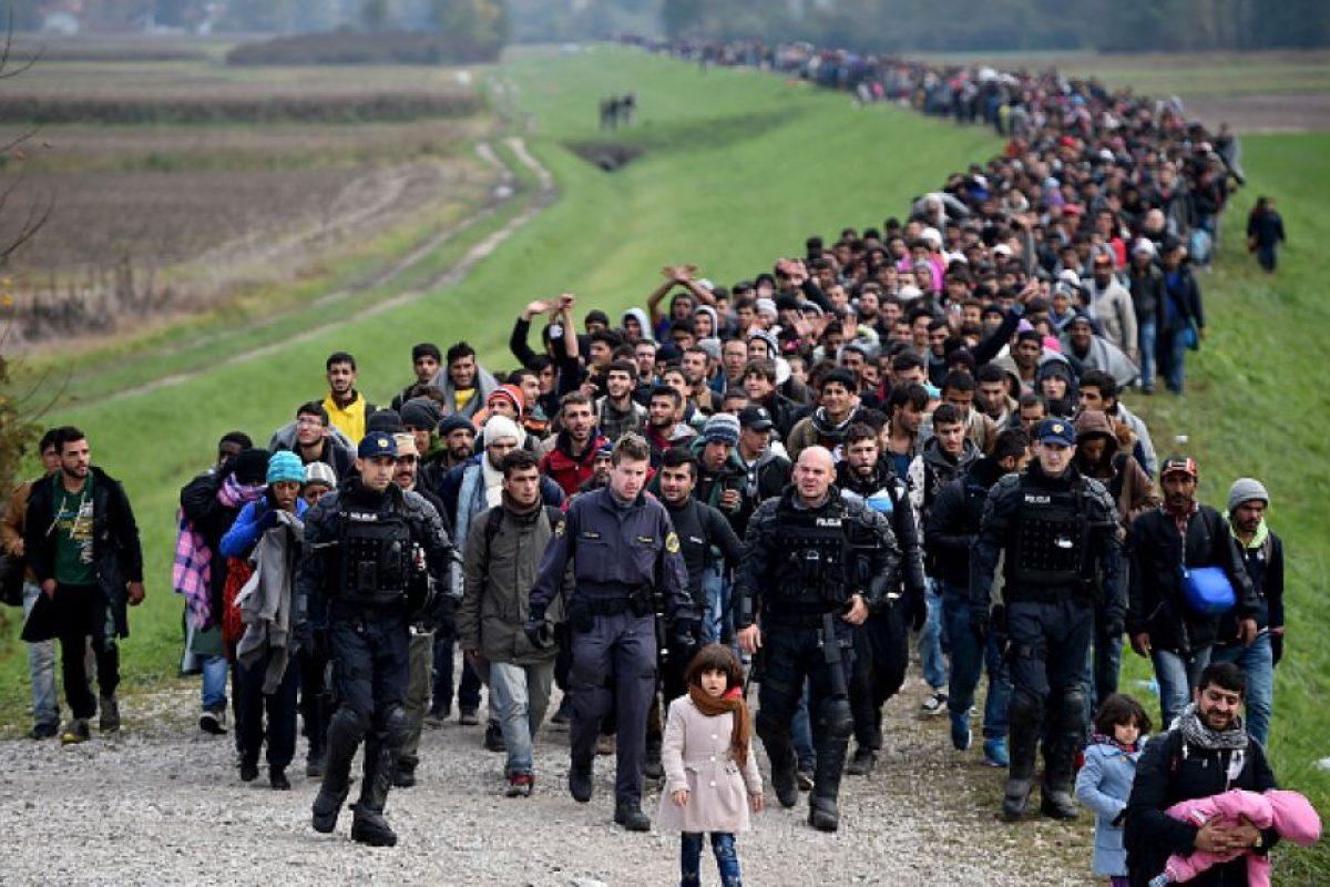 Entre enero y mayo de 2016, llegaron más de siete mil menores a Italia Foto:Getty Images. Imagen Por: