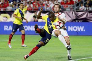Ecuador, a diferencia de Estados Unidos, llega invicto a los cuartos de final tras empatar con Brasil y Perú y vencer a Haití Foto:Getty Images. Imagen Por: