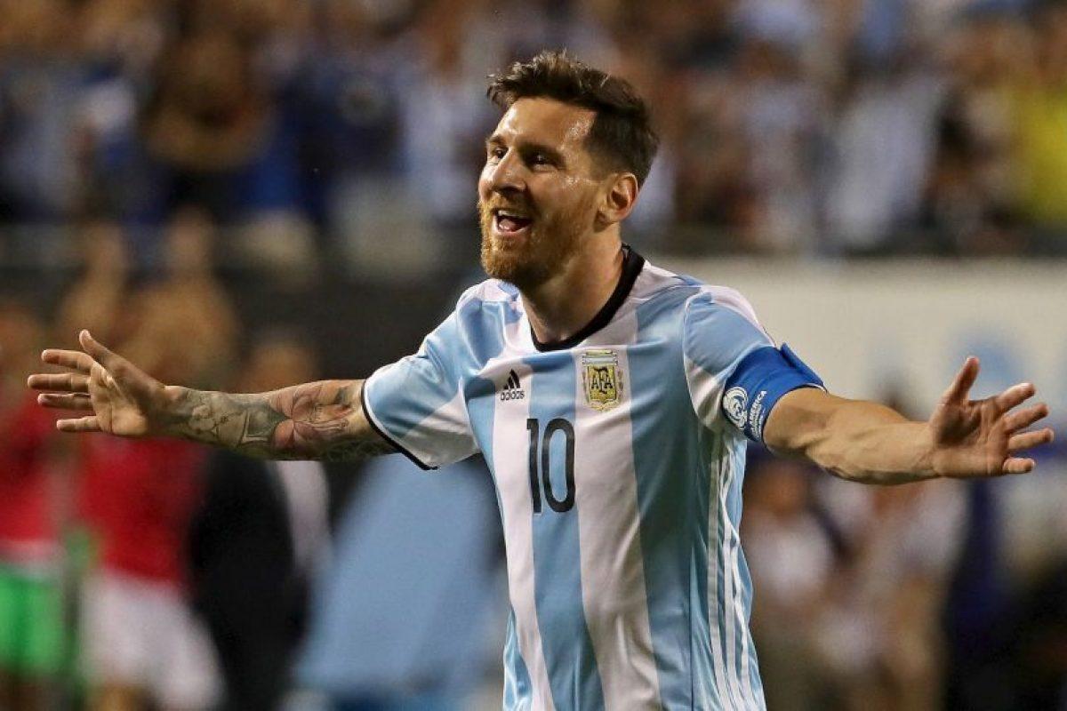 El argentino ha descansado en la fase de grupos, pero en los minutos que jugó se dio mañana de hacerle un triplete a Panamá Foto:Getty Images. Imagen Por: