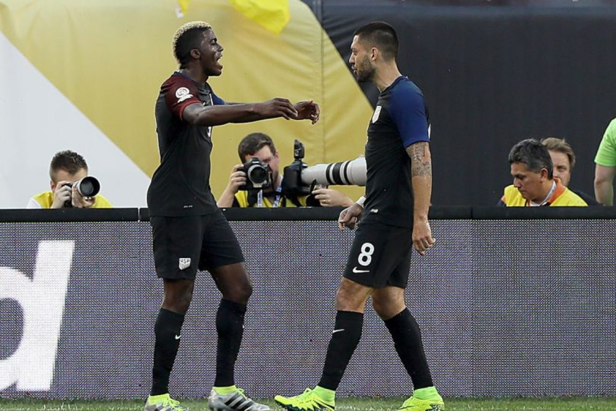 Estados Unidos tuvo un mal comienzo y cayó por 2 a 0 ante Colombia, pero se repuso y ahora sacó chapa de candidato para el título en su Copa Améria Foto:Getty Images. Imagen Por: