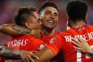 La Roja viene en alza y así lo demostró ante Panamá, donde finalmente pudieron exhibir un juego colectivo Foto:Getty Images. Imagen Por: