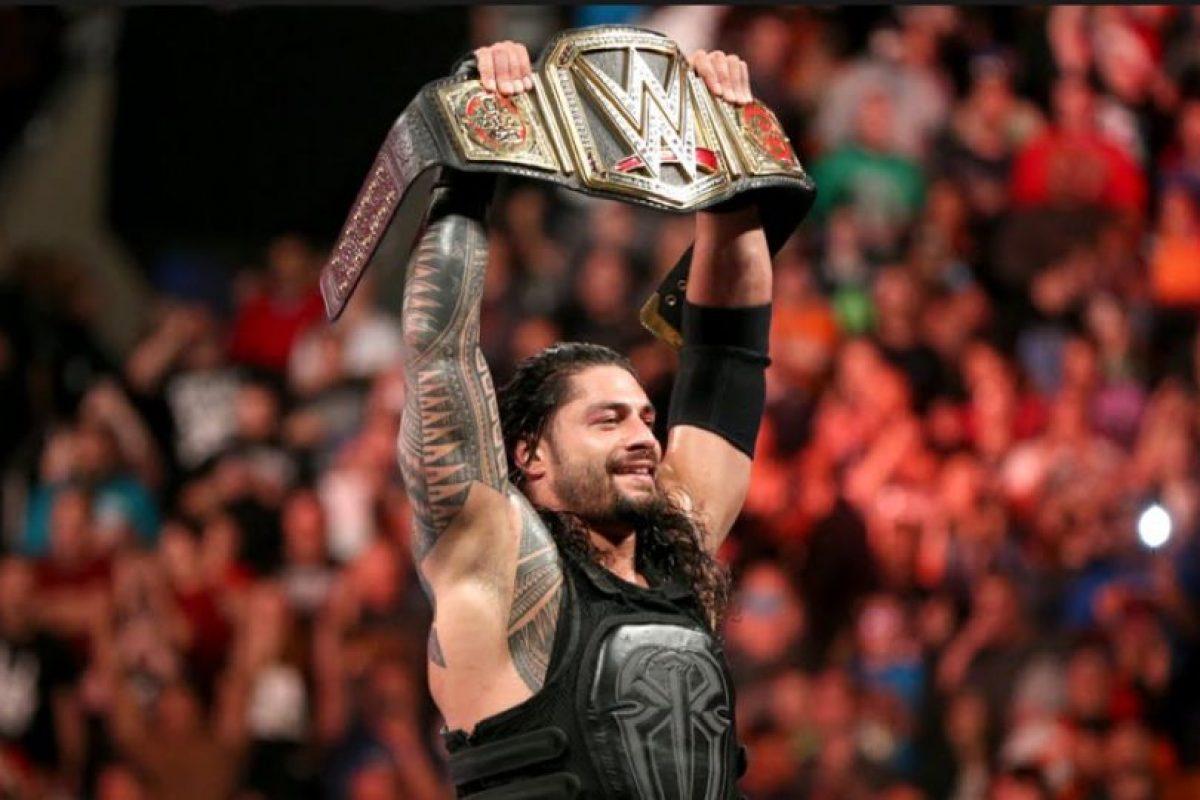 Roman Reigns defenderá el Campeonato Mundial de Peso Pesado Foto:WWE. Imagen Por: