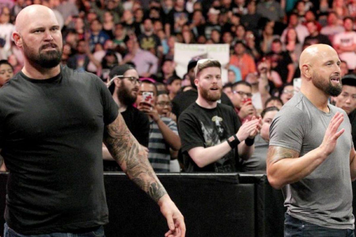 Y Karl Anderson y Luke Gallows Foto:WWE. Imagen Por: