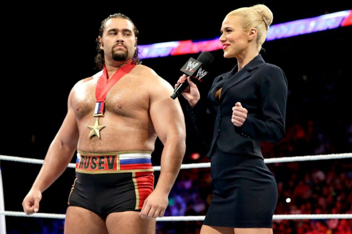Rusev defiende el Campeonato de Estados Unidos Foto:WWE. Imagen Por:
