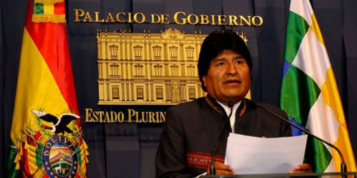 Evo Morales acusa a periodista chileno de querer