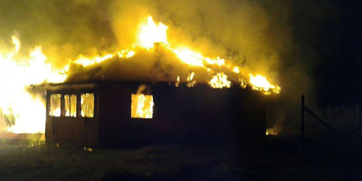 Nuevo incendio afecta a iglesia en La Araucanía