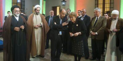 Presidenta Bachelet participó en rito musulmán del Ramadán en La Moneda