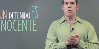 Álvaro Escobar recuerda su faceta de abogado y explica cómo funciona el sistema penal