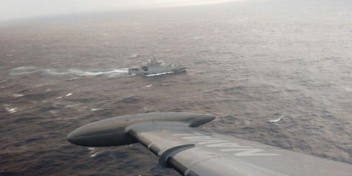 Armada continúa búsqueda de joven que cayó al agua desde buque en Magallanes