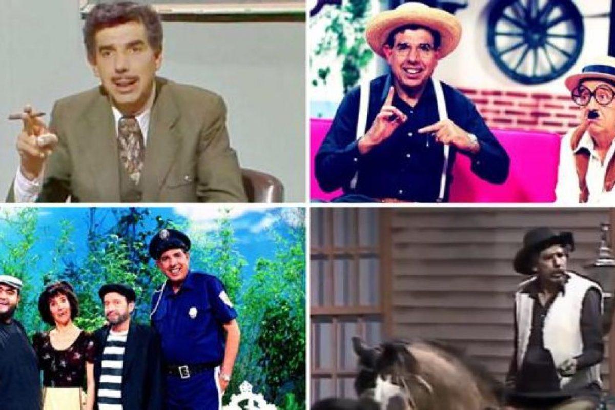 """Es recordado por personajes como """"El Profesor Jirafales"""", """"El Sargento Refugio"""" y """"Lucas Tañeda"""" Foto:Twitter.com. Imagen Por:"""