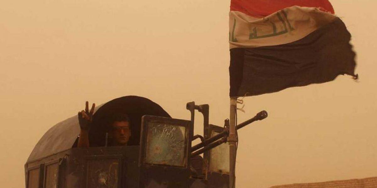 Las fuerzas iraquíes entran en Faluya y toman el cuartel general del EI