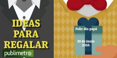 Infografía: Día del Padre, ideas para regalar