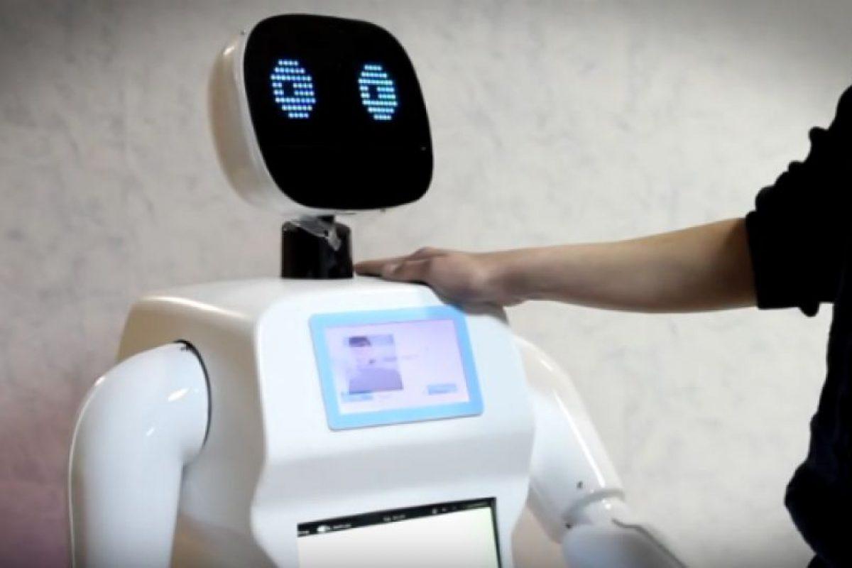 Promobot está diseñado para trabajar en áreas de alta concentración de personas, como centros comerciales. Foto:Promo-bot.ru. Imagen Por: