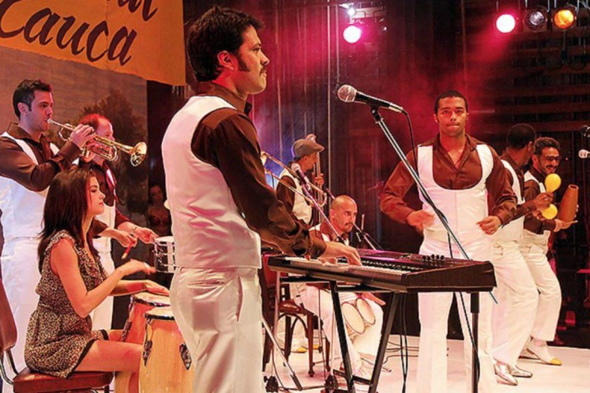 """""""La Orquesta"""" fue la telenovela del grupo colombiano de salsa """"Grupo Niche"""". Foto:Canal RCN. Imagen Por:"""