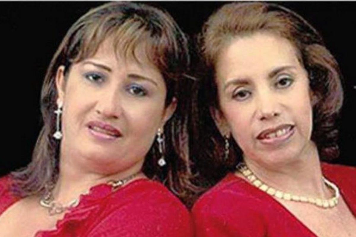 Así se ve el dúo en la vida real. Foto:Canal Caracol. Imagen Por: