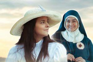 Julieth Restrepo y Linda Lucía Callejas interpretaron a la santa Laura Montoya. Foto:Canal Caracol. Imagen Por: