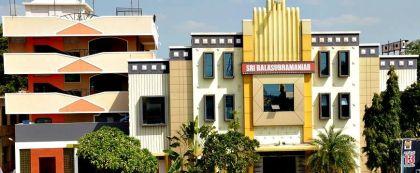 Fachada del cine Sri Balasubramaniar