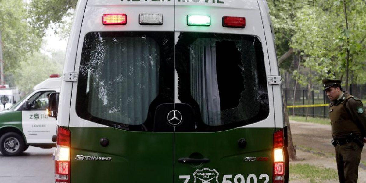 Desconocidos roban furgón a Carabineros que fiscalizaban a conductores en Concepción