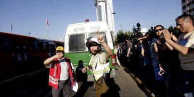 En libertad y con firma mensual sujetos que sustrajeron furgón policial en Concepción