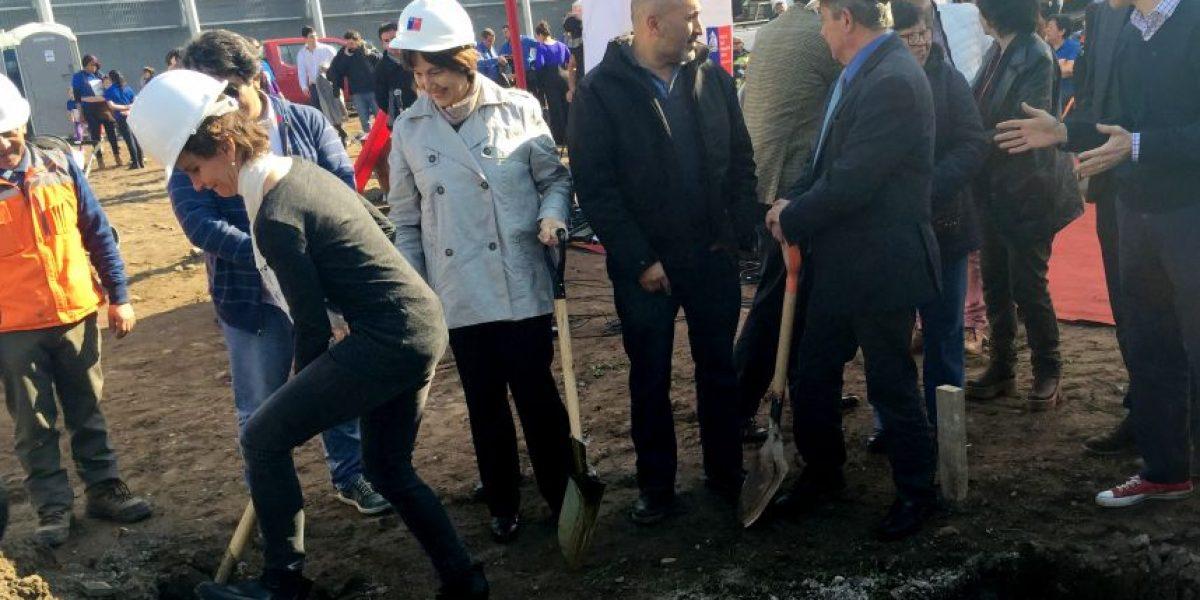 Ministra de Salud y alcaldesa Tohá dieron el vamos a nuevo Cesfam de Santiago