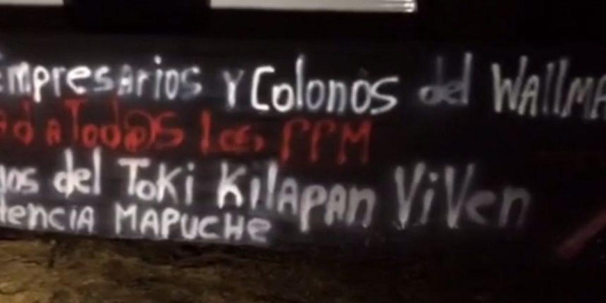 Desconocidos atacan maquinaria forestal en fundo de Perquenco