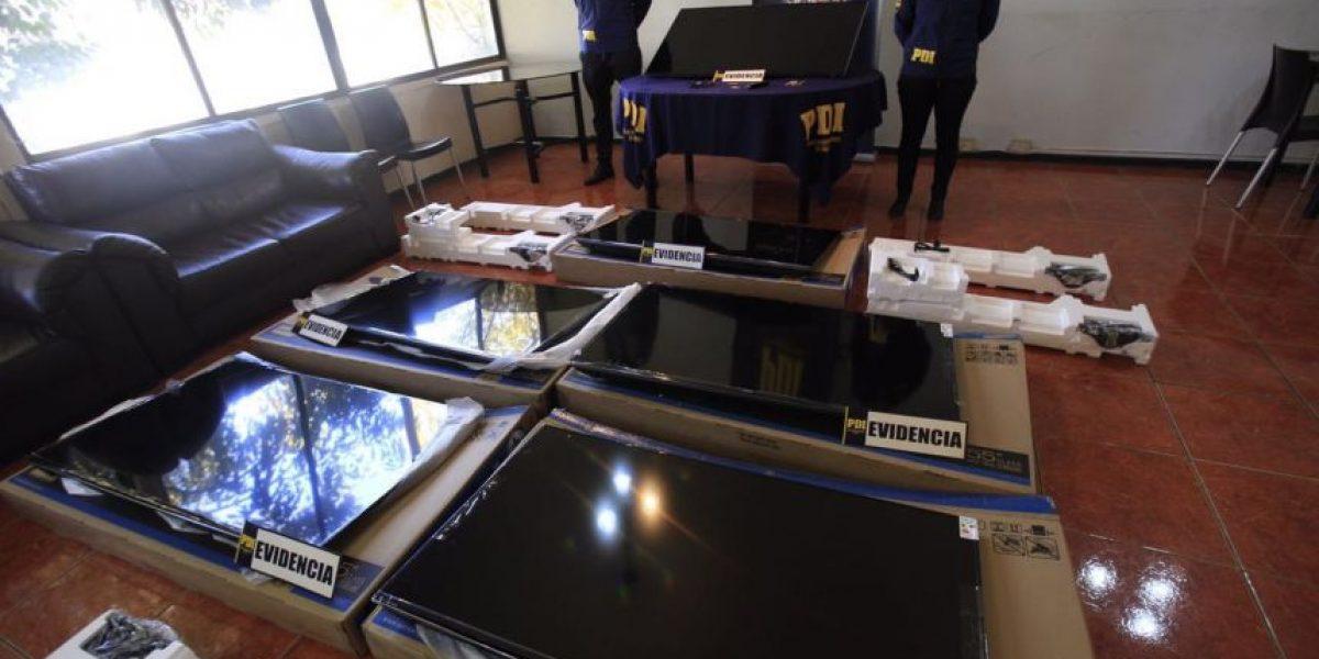 PDI detuvo a mecánico por robar televisores desde hotel del sector oriente