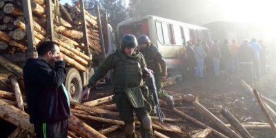 Más de 30 lesionados dejó choque triple en ruta de la comuna de Cañete
