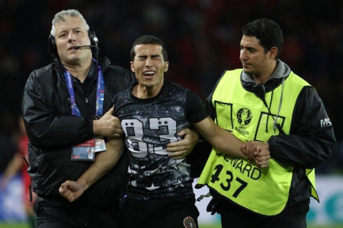El gesto lo emocionó hasta las lágrimas Foto:AFP. Imagen Por: