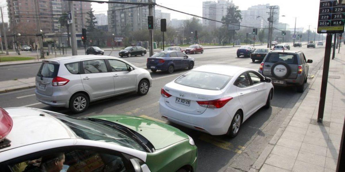 Conductores no respetaron restricción y 4 estaciones marcan niveles de emergencia