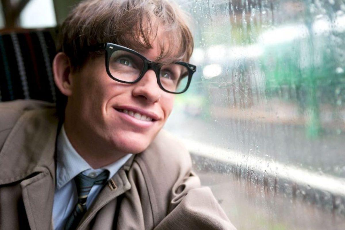 """Eddie Redmayne ganó un Óscar por interpretar al físico Stephen Hawking en """"La Teoría del todo"""" Foto:Universal Pictures. Imagen Por:"""