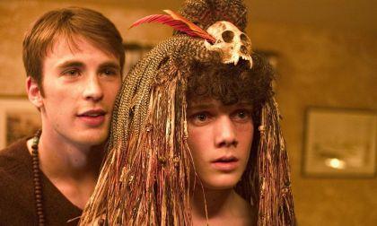 Chris Evans y Antón en la cinta