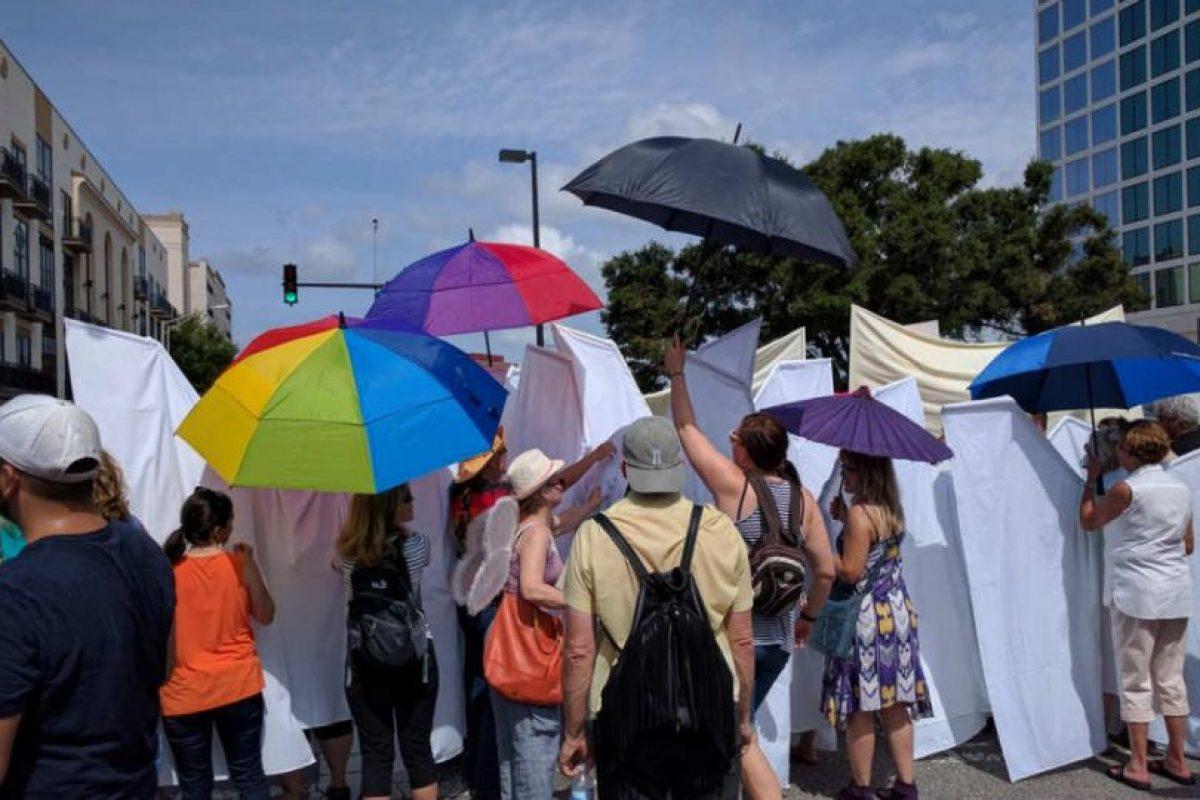 Fueron más los que apoyaron que los manifestantes anti-gay. Foto:AP. Imagen Por: