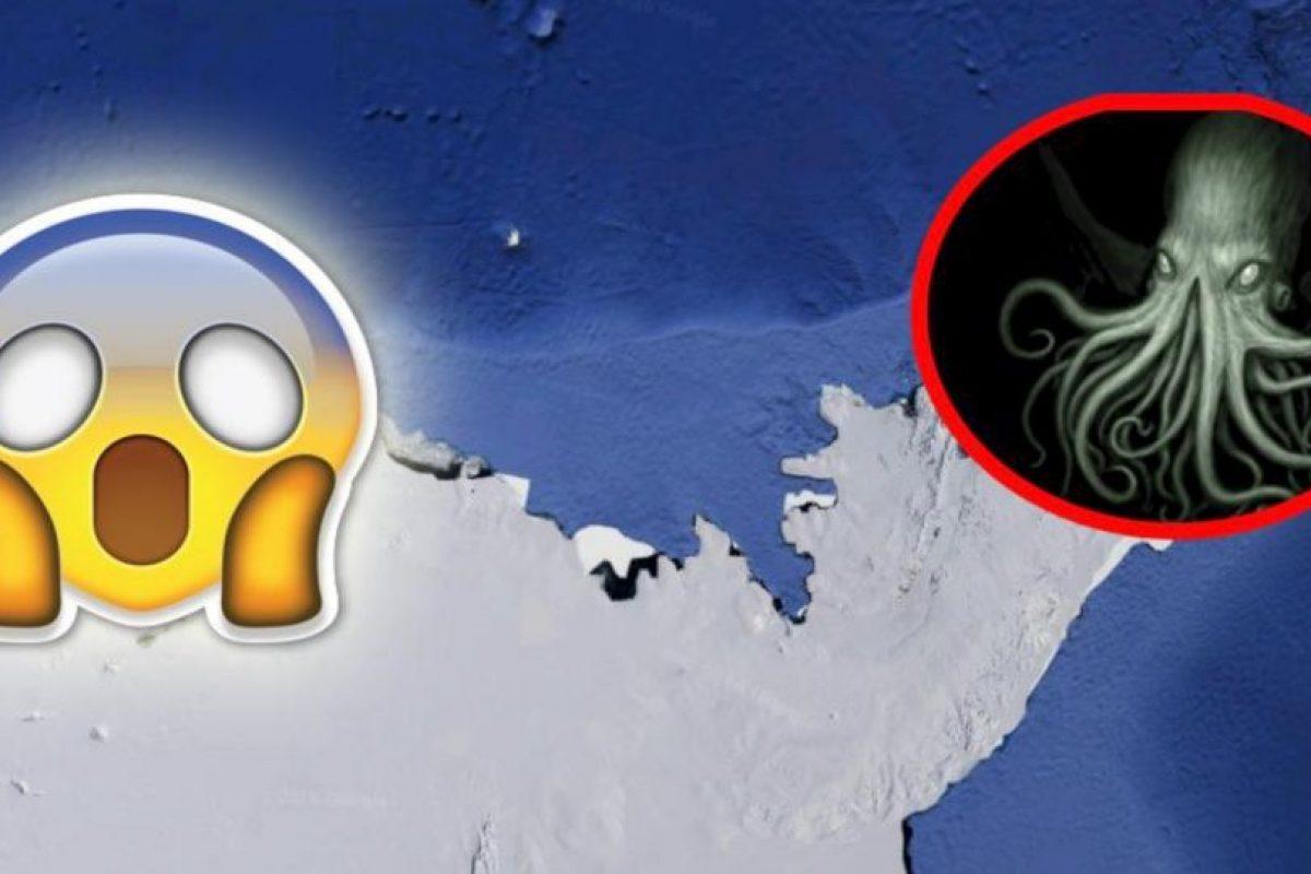 De acuerdo con la información, la Antártida sería el hogar de este monstruo mitológico. Foto:Google Maps. Imagen Por:
