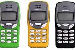 Nokia 3210. Foto:Nokia. Imagen Por: