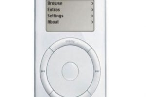 iPod Classic original. Foto:Apple. Imagen Por: