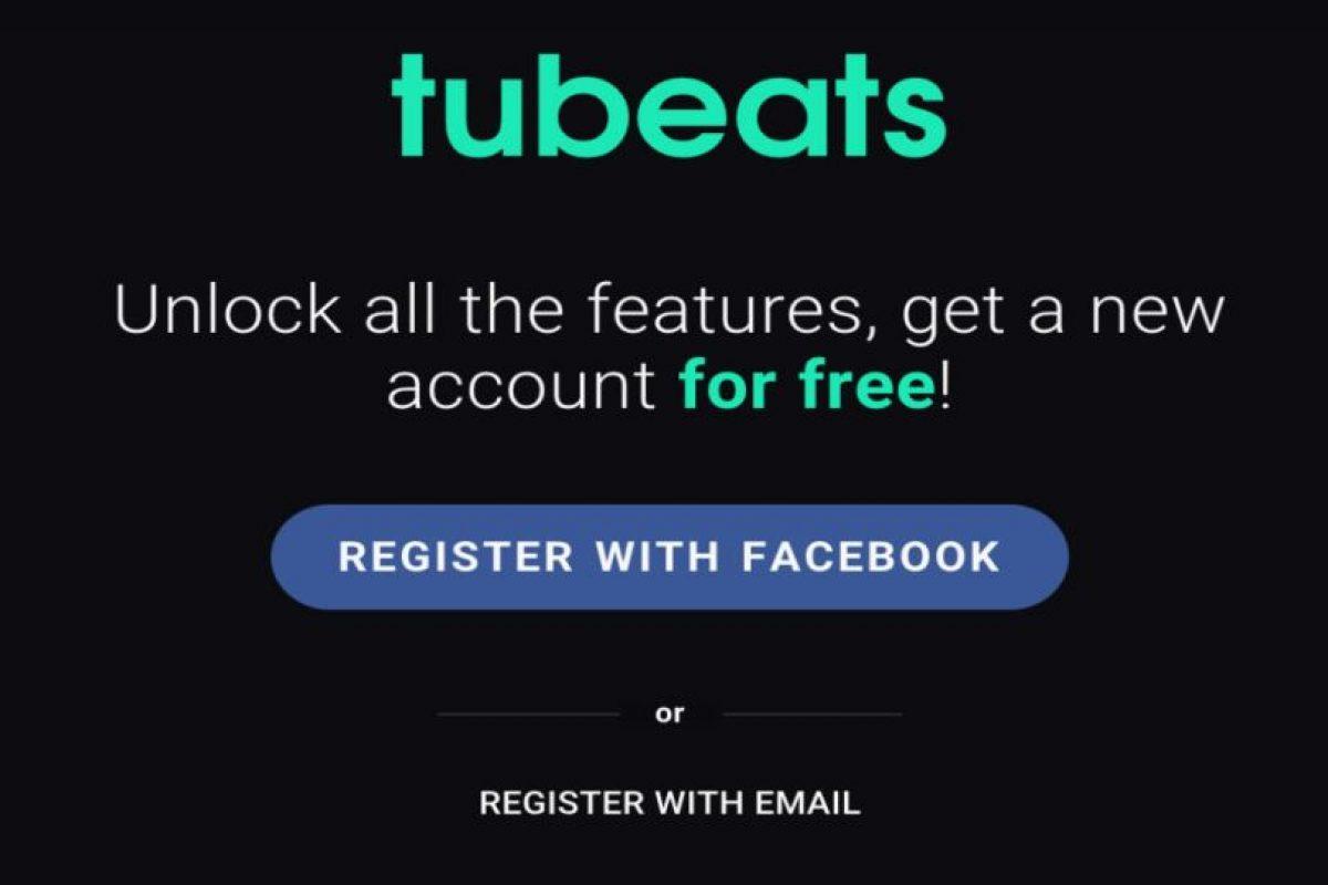 """""""Tubeats"""" también funciona en móviles. Foto:Tubeats. Imagen Por:"""