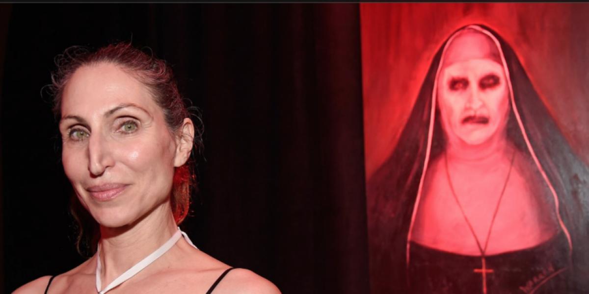 Fotos: Así luce en la vida real la monja demoníaca de