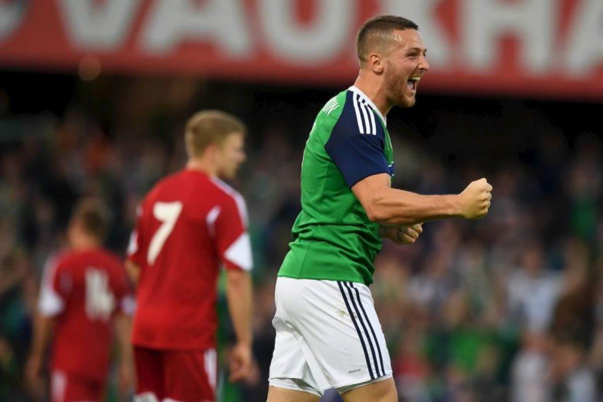 Sus condiciones convencieron al técnico de Irlanda del Norte y lo citó para la Eurocopa Foto:Getty Images. Imagen Por: