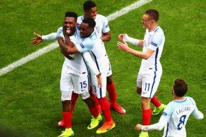 Los ingleses suman cuatro unidades y son líderes de su grupo, luego de vencer a Gales por 2 a 1 y empatar con Rusia en la primera fecha Foto:Getty Images. Imagen Por: