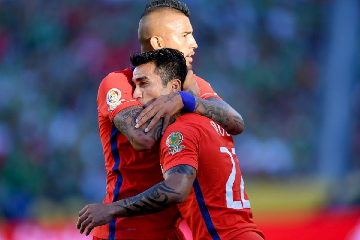 Chile, en tanto, humilló a México con una goleada por 7 a 0 y se perfiló nuevamente como candidato Foto:Getty Images. Imagen Por: