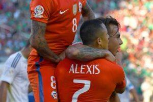 La Roja venía cuestionada por hinchas y especialistas, pero demostró todo su poderío con la goleada ante México Foto:Getty Images. Imagen Por: