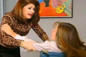 """La escena de la """"Maldita Lisiada"""" es un clásico generacional. Pertenece a la telenovela """"María la del Barrio"""", de 1995. Foto:vía Canal de las Estrellas. Imagen Por:"""